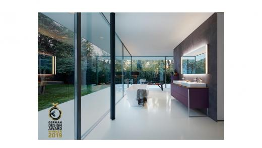 Duravit's new products win a total of four awards at the German Design Awards 2019