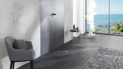 Colored shower areas – Pure aesthetics, functionality and well-being.